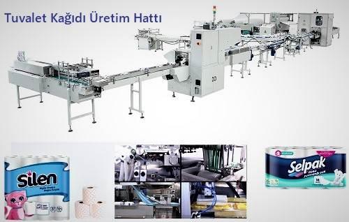 Tuvalet Kağıdı Üretim Makinesi