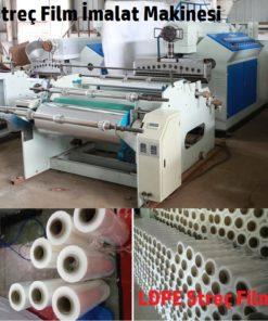 streç film üretim makinesi