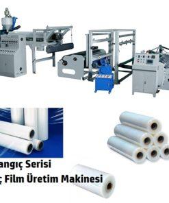 Streç film imalatı makinesi